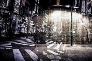 街頭と雑踏